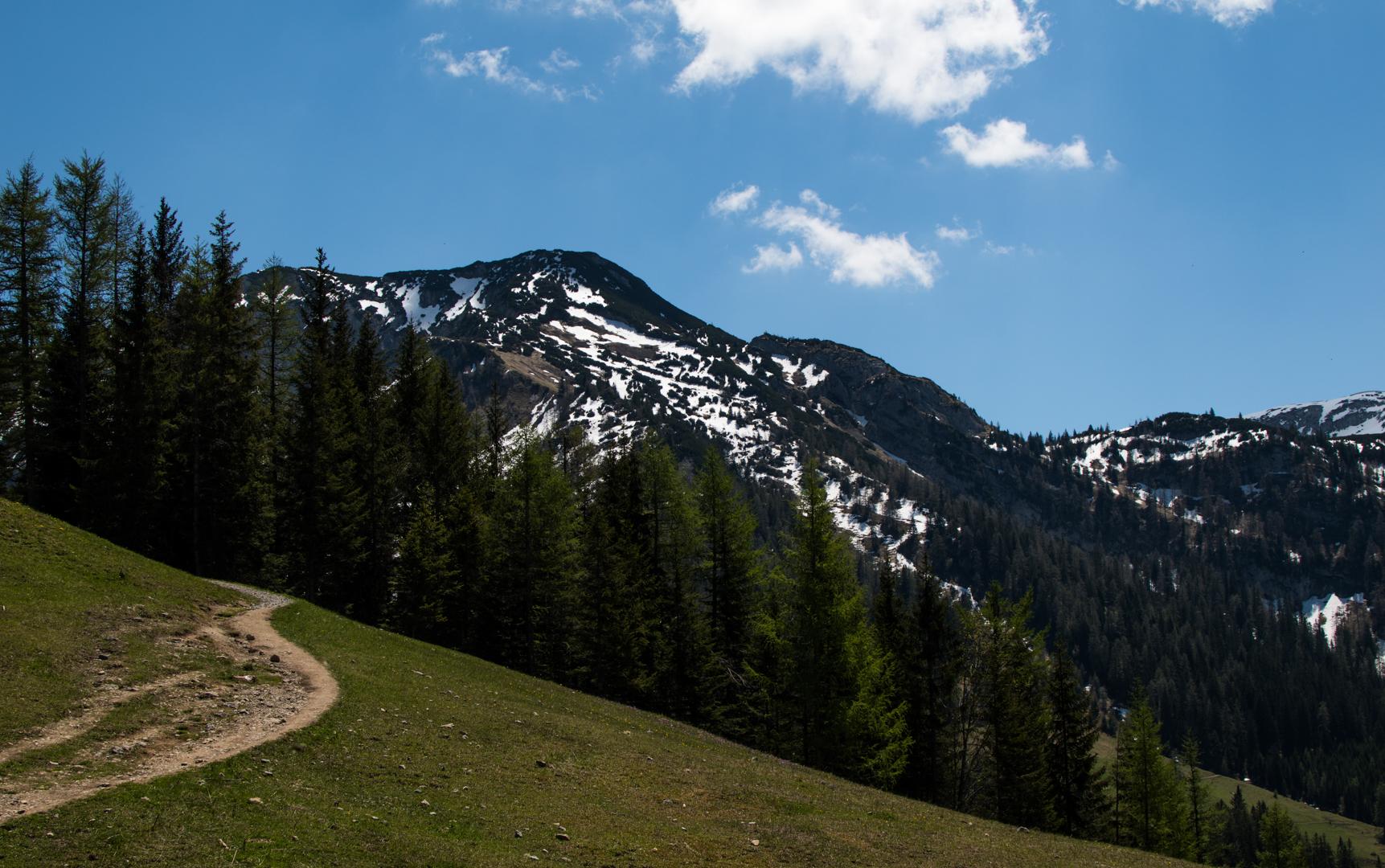 Nahe der Bergbahn