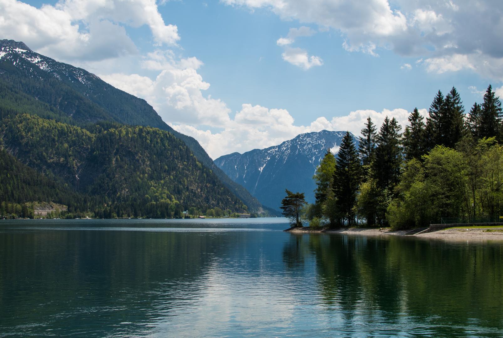 Blick auf den Achensee von Achenkirch aus