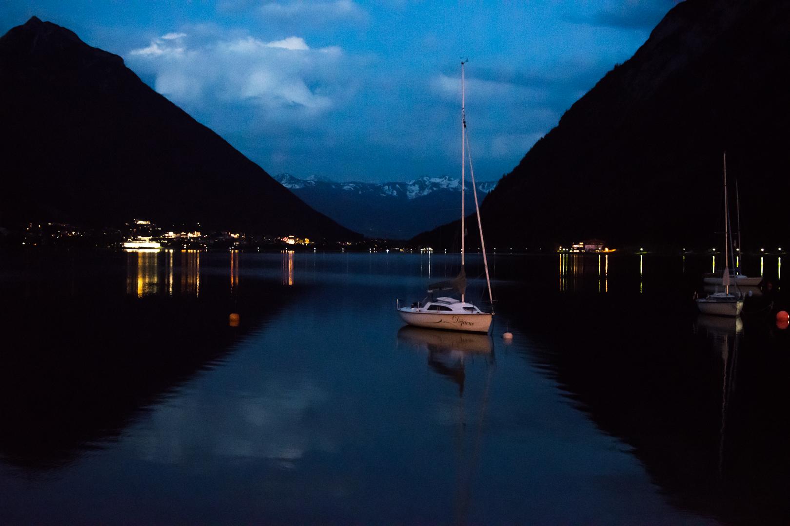 Achensee bei Nacht