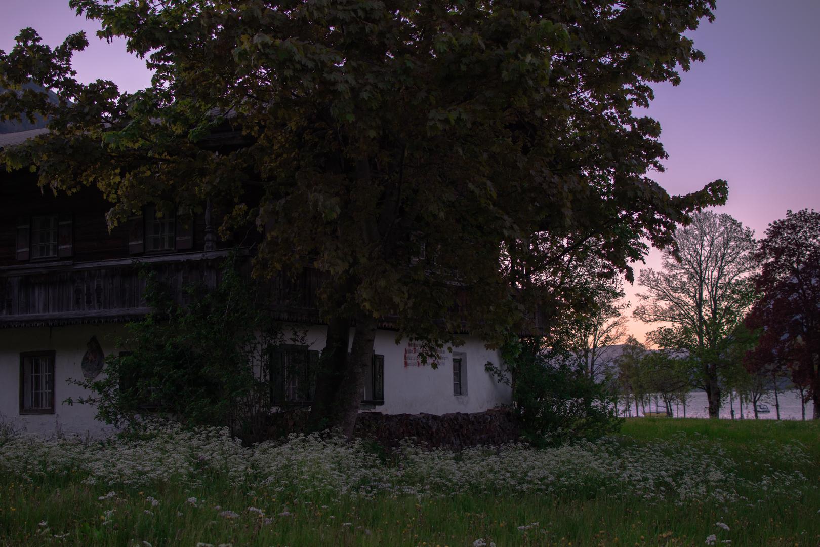 Altes Bauernhaus am Achensee