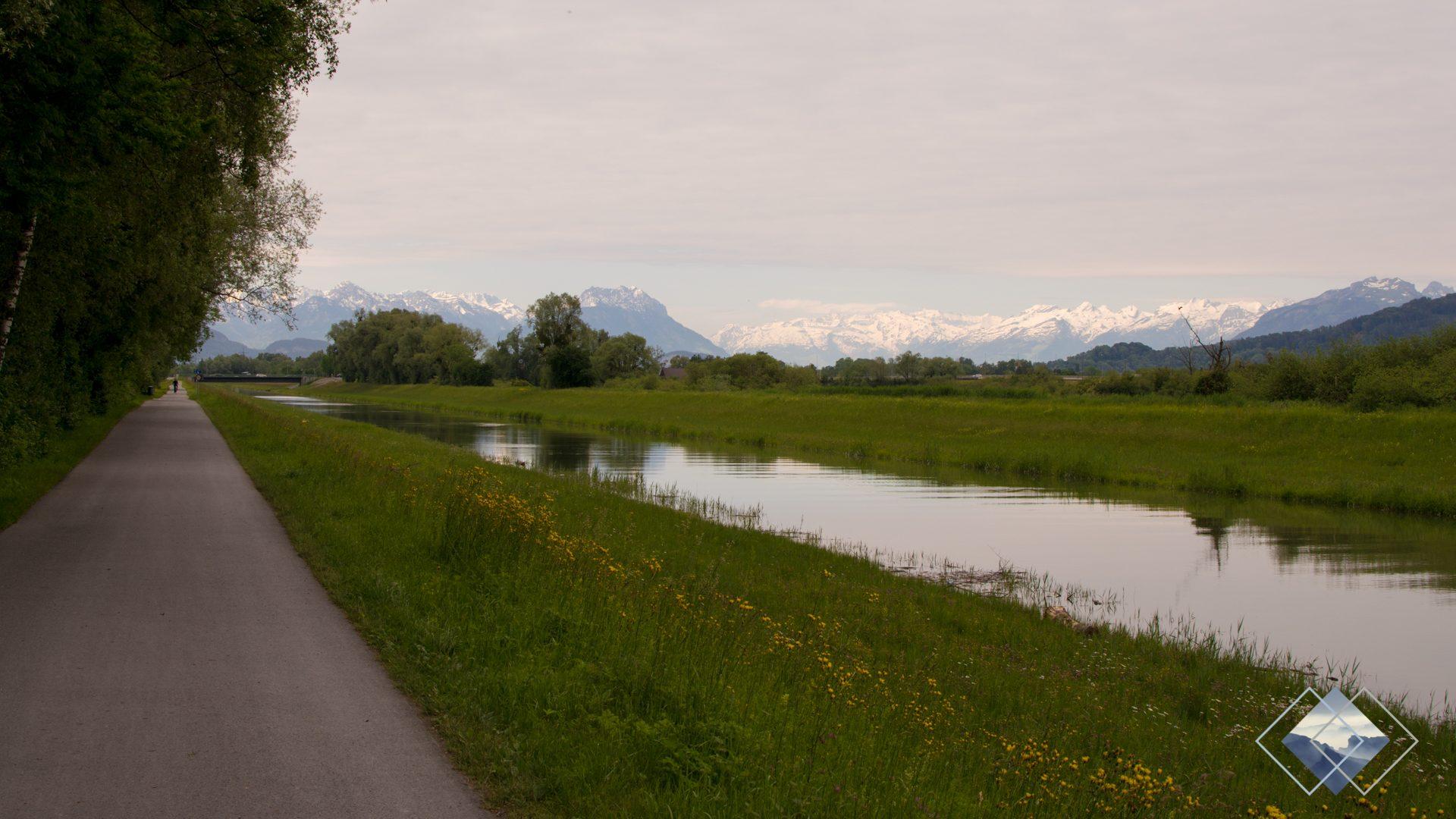 Bodenseeradweg Österreich