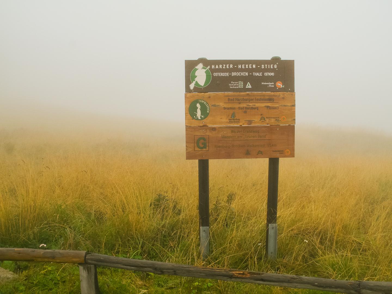 Nebel auf dem Brocken