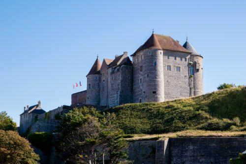 Alabasterküste - Schloss in Dieppe