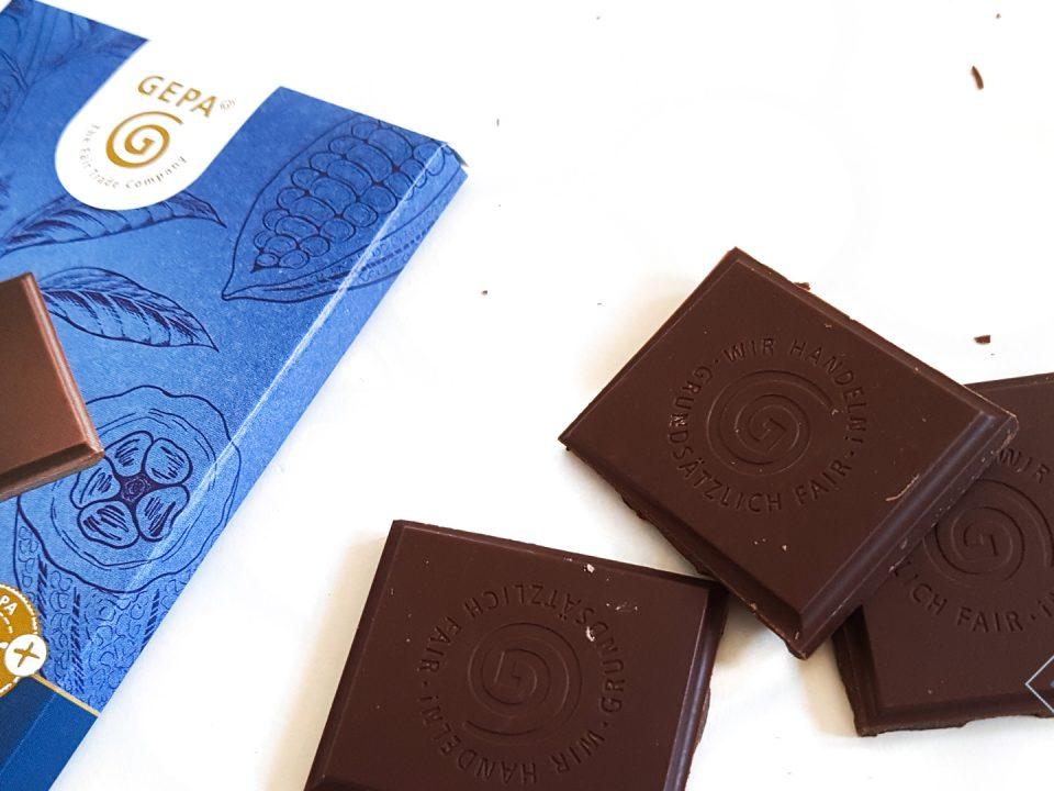 Faire Schokolade