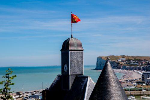 Alabasterküste - Blick auf Le Tréport