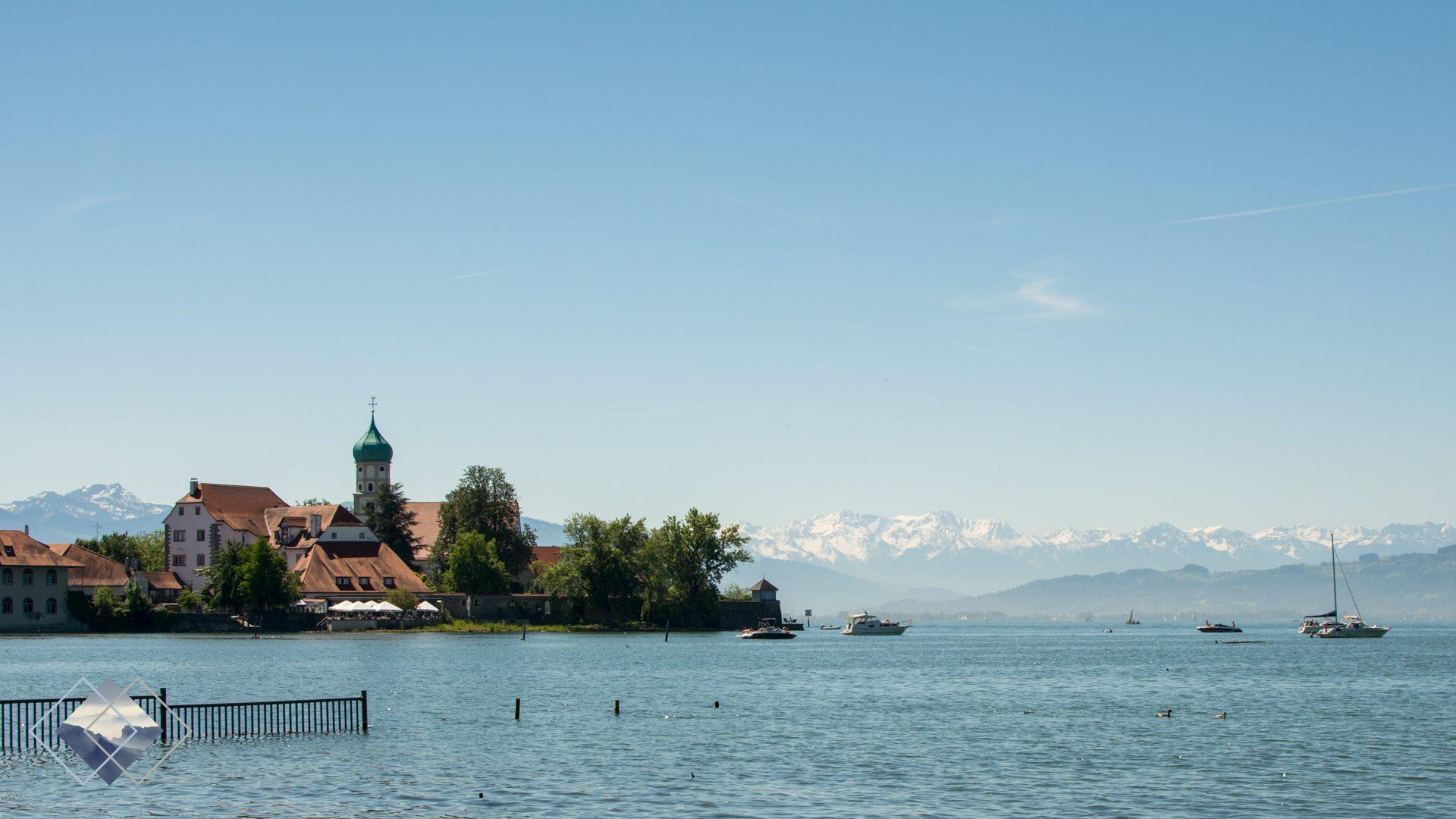 Blick auf den Bodensee bei Nonnenhorn