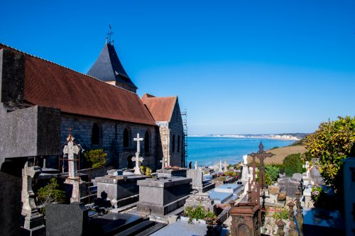Alabasterküste - Kirche St. Valery in Varengeville-sur-Mer