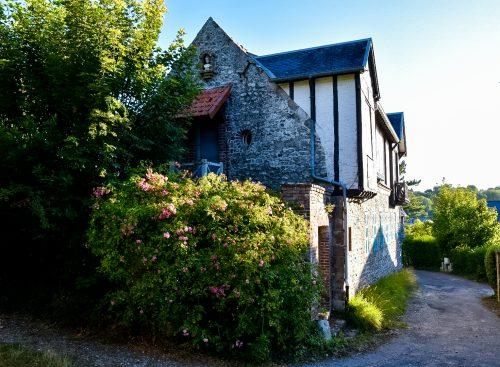 Alabasterküste - Fachwerkhaus in Veulles-les-Roses