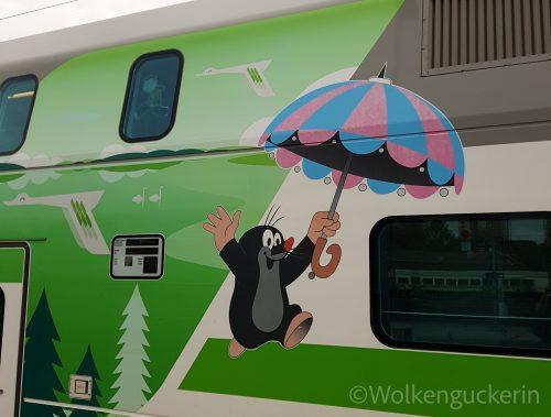Auschnitt finnischer Zug